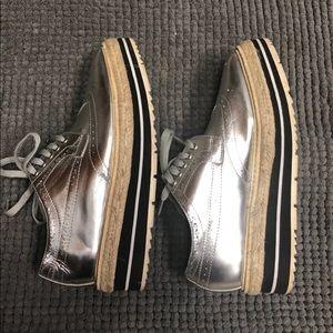 Prada Platform Shoes